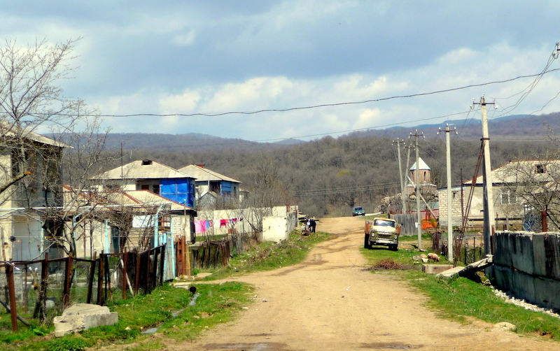 Svan village in the municipality of Tetritskaro (Kvemo Kartli)