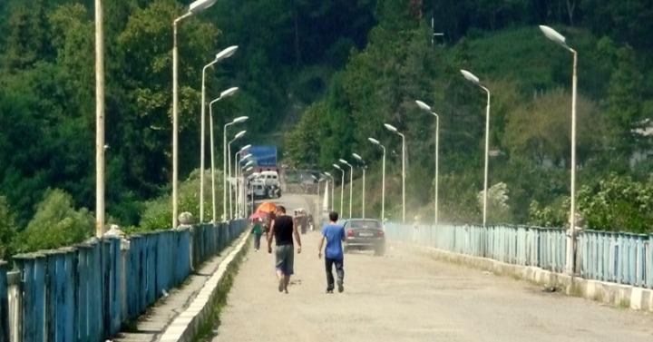 Enguri Brücke, am 25. August 2012