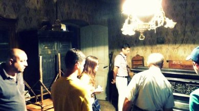 Besuch in Viktor Kleins Haus