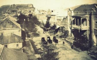 Samepo Str., Anfang 19. Jh. (Q: Old Gori, Ethnogr. Museum Gori)