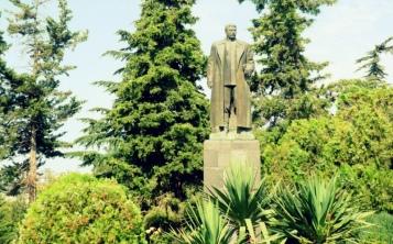 Stalin Statue im Park, Gori.