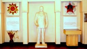Stalin im Kriegsmusem in Gori.